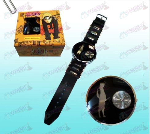 Naruto Sasuke black watches