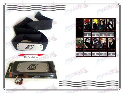 A generation of Naruto Xiao Organization ring + Headband (kiba)