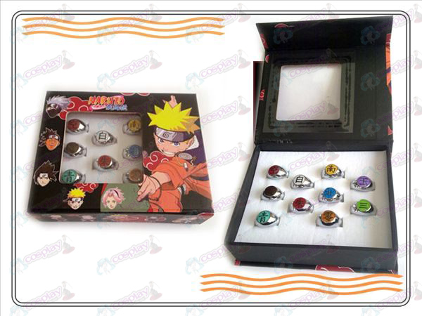 Naruto ten Xiao Organization ring