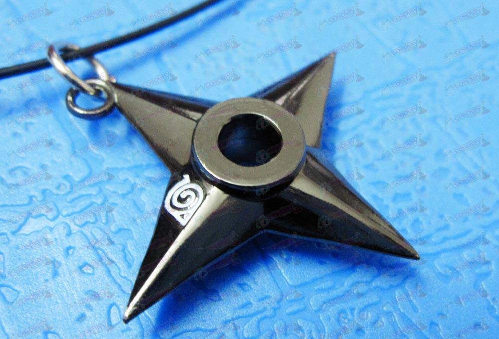 Naruto Shuriken Necklace