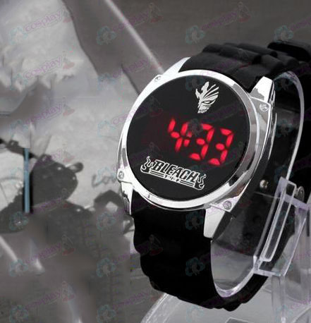 Bleach Accessories broken surface markings LED touch screen watch