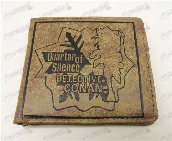 Conan 15th anniversary of matte wallet