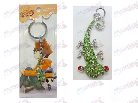 Reborn! Accessories gecko keychain