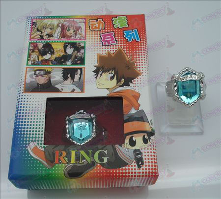 Reborn! Accessories Rings (light blue)