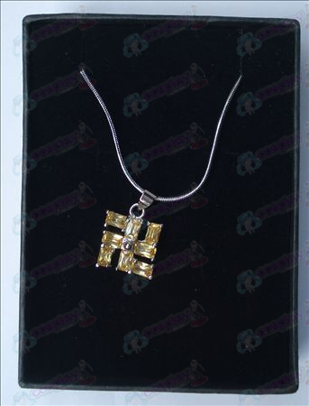 Bleach Accessories thousand words necklace (small yellow)