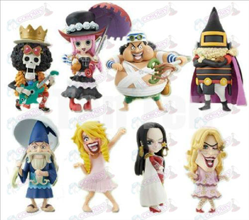73 on behalf of eight One Piece Accessories doll cradle