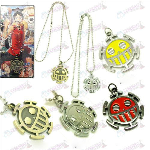 One Piece Accessories sign pendant necklace