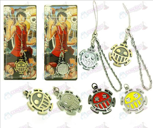 One Piece Accessories flag Pendant Strap