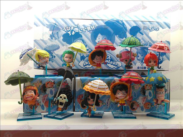 10 Umbrella One Piece Accessories Doll