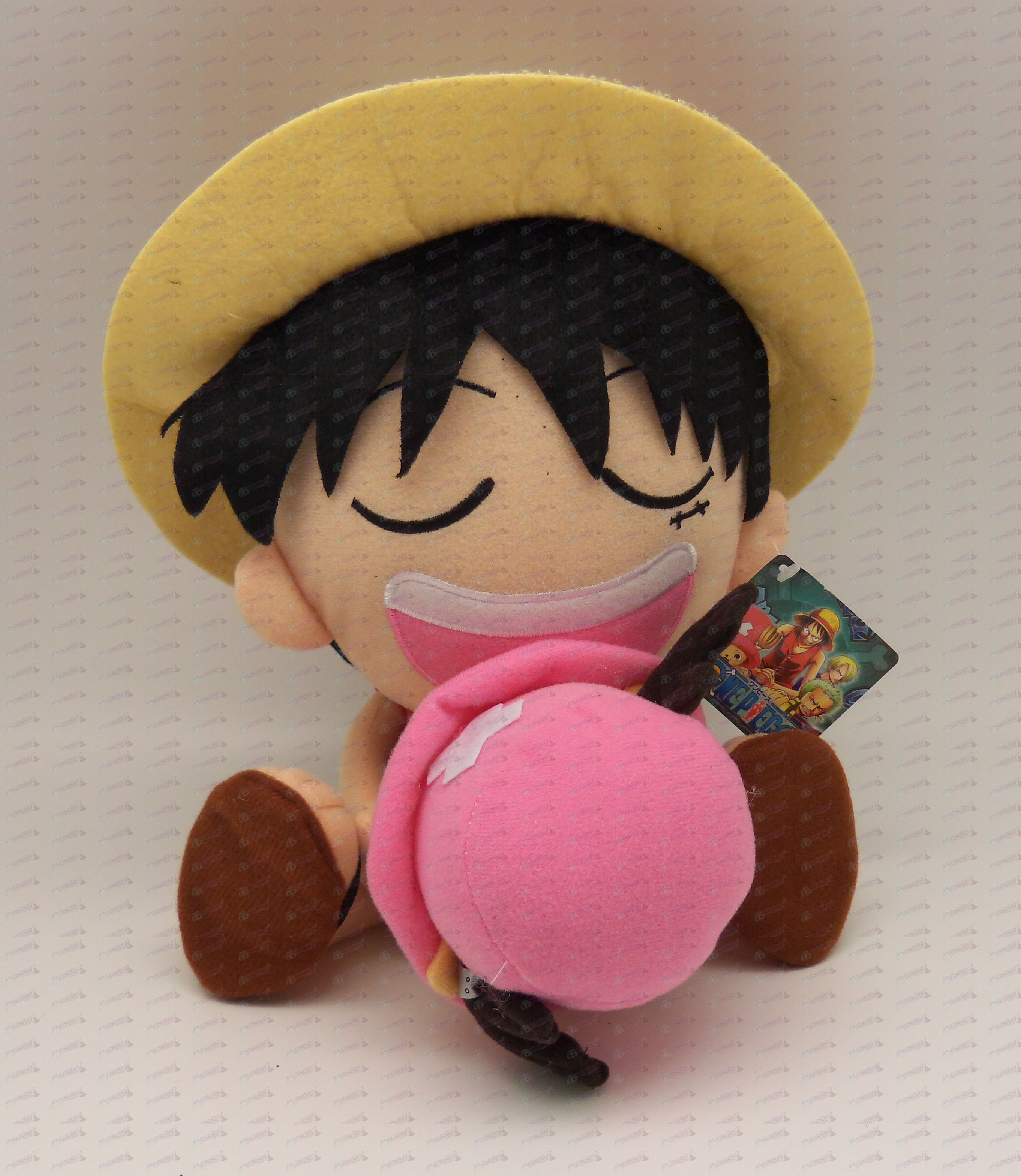 Luffy Chopper Plush hold