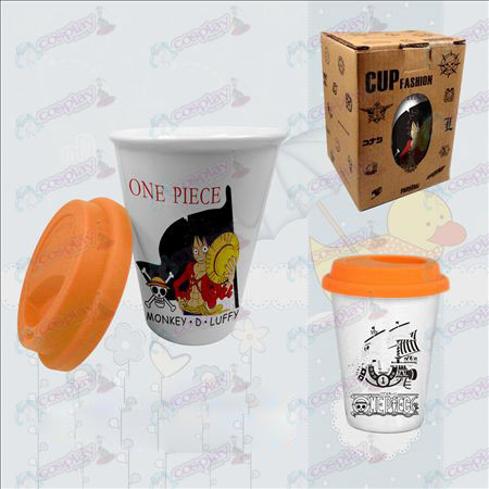 Double color ceramic cups (Luffy)