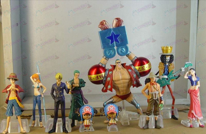 10 two years after the One Piece Accessories (with box) 4CM-16CM