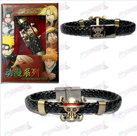 One Piece Accessories logo punk strap