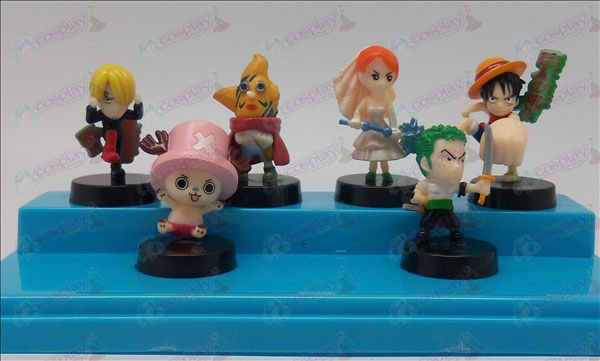 6 One Piece Accessories doll cradle