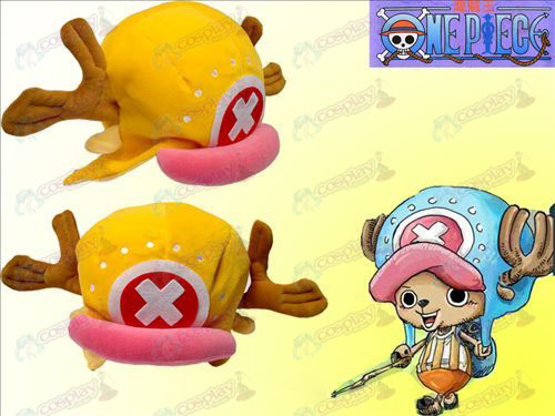 One Piece Accessories New Chopper hat orange