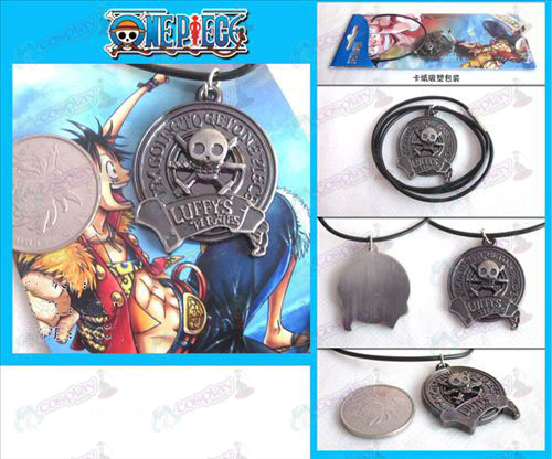 One Piece Accessories logo necklace