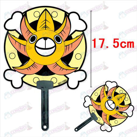 One Piece Accessories Sonny number (Sonne) cool fan