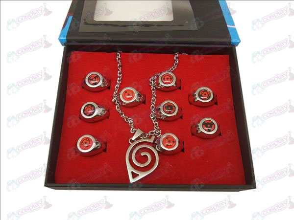 9 Naruto Ring + Necklace