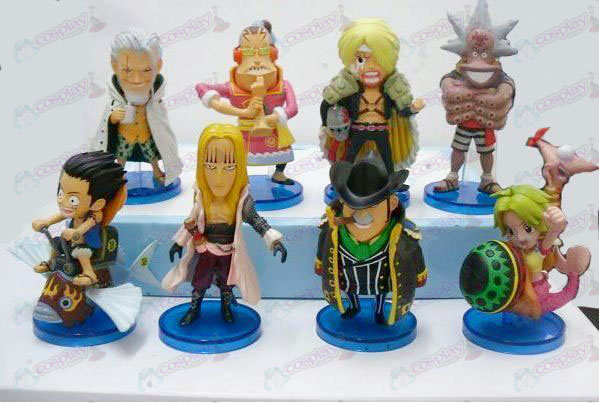 34 on behalf of eight One Piece Accessories Doll