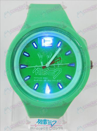 Colorful flashing lights sport watch-Hatsune Miku Accessories