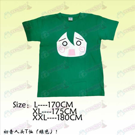 Hatsune head T-shirt
