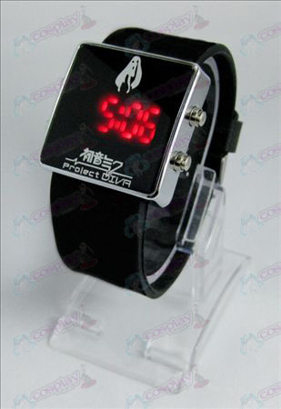 Hatsune Miku AccessoriesLED sports watch - black strap