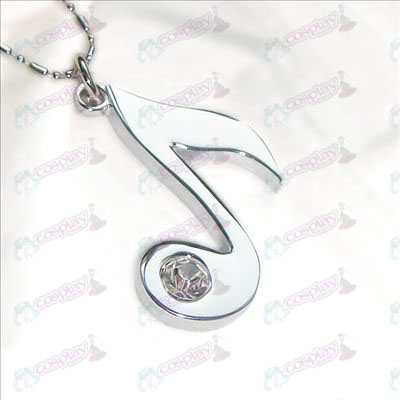 Hatsune necklace notes