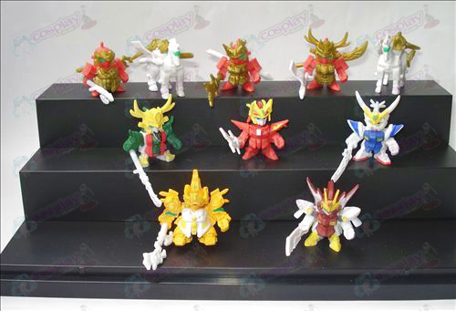 10 Three Gundam Accessories Doll