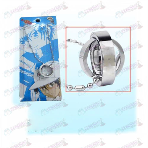 The Prince of Tennis Accessories Dual Ring Necklace (card)