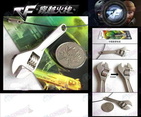 CrossFire Accessories Wrench Necklace