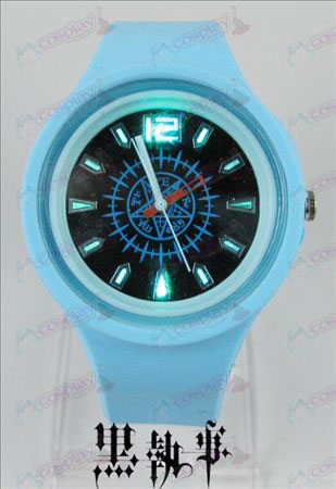 Colorful flashing lights sport watch-Black Butler Accessories