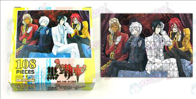 Black Butler Accessories puzzle (108-012)