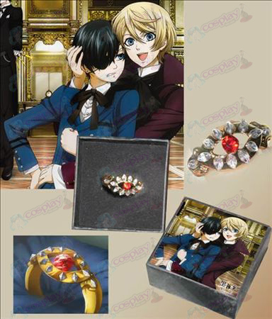 Black Butler Accessories protagonist of the second quarter Ring (card installed)