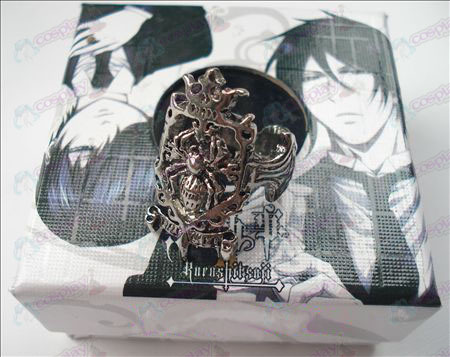 Black Butler Accessories Spider Ring