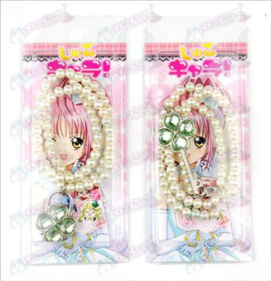 Blister card Shugo Chara! Accessories necklace (green) a