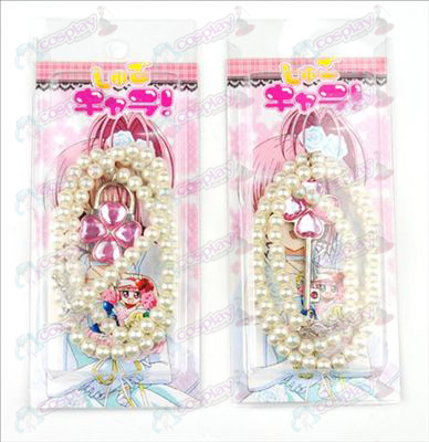 Blister card Shugo Chara! Accessories Necklace (Pink) a