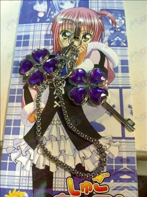 Shugo Chara! Accessories couple phone chain (purple)