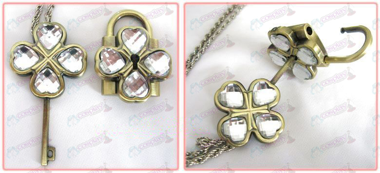 Shugo Chara! Accessories couple Lock Kit (White)