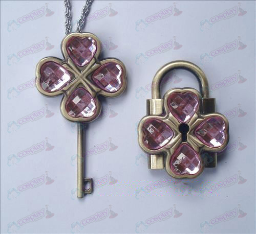 Shugo Chara! Accessories couple Lock Set (Pink)