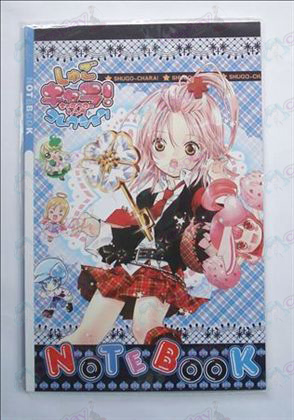 Shugo Chara! Accessories Notebook
