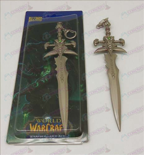 Frostmourne sword buckle (pearl color)