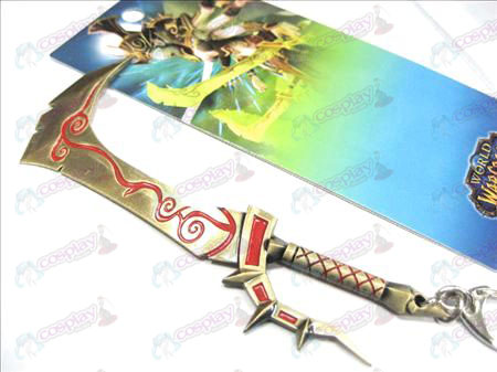 World of Warcraft Accessories Xaghra female buckle knife