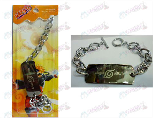Naruto large 0 word chain bracelet
