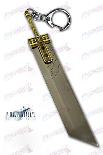 Final Fantasy Accessories-Claude cut iron sword