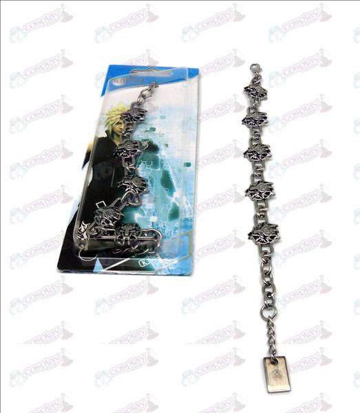 DFinal Fantasy Accessories Langtou metal bracelet