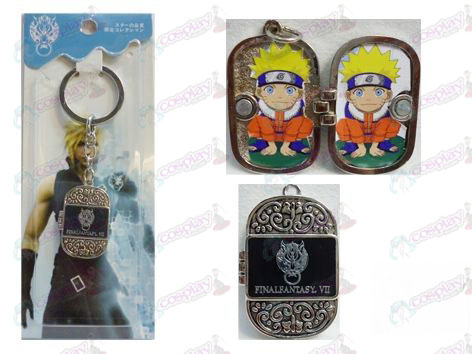 Final Fantasy Accessories Photo Frame Keychain