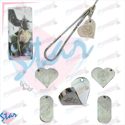 Cartoon heart-shaped rotating Strap