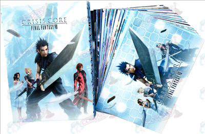 Final Fantasy Accessories Space Postcard 2