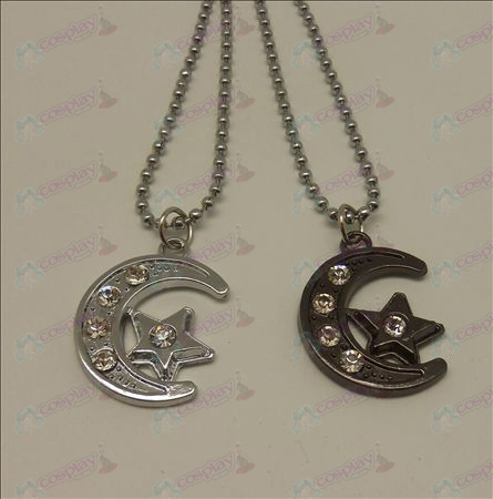 Blister Lucky Star Accessories couple necklace
