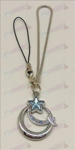 Star-Stealing Girl Accessories Strap (Blue)
